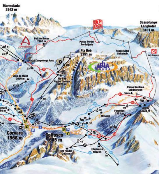 Skiing guides Casa Alfredino